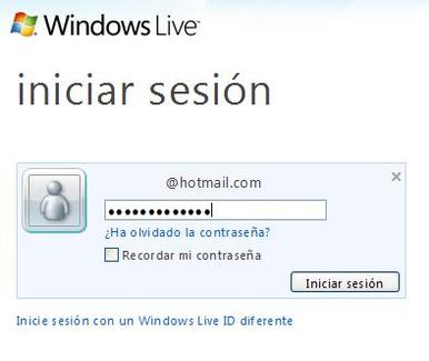 iniciar outlook sesion home